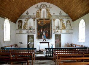 Retable de la chapelle Sainte-Anne Grappon