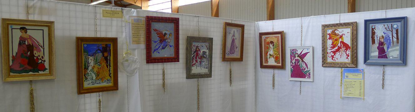 Le salon des arts vie culturelle for Peinture sur faience