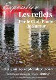 Affiche exposition les reflets club photo – septembre 2018